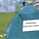 Camping oder Campus?