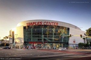 Austragungsort der Rassismus-Debatte: Das Staples Center in Los Ange- les, Stadion der Clippers. Foto: Christopher Chan (CC BY-NC-ND 2.0)